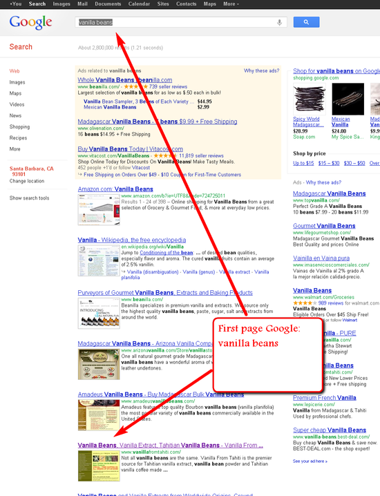 Generic Search Phrases can get Top Ranking on Google Searches