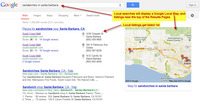 Google Local Listings Example